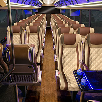 Ultra Coachliner DXL Tan Interior