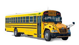 BLUE BIRD VISION PROPANE BUS
