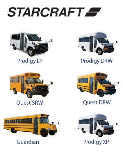 NBS | Texas New School Buses For Sale | Texas TX New Shuttle Buses