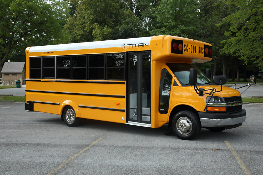 TITAN BUS ANNOUNCES NATIONAL BUS SALES AS NEWEST DISTRIBUTOR
