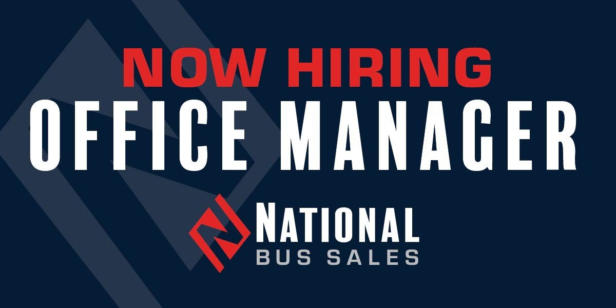 Now Hiring – Office Manager/Controller