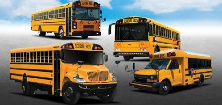 The Different Types of School Buses