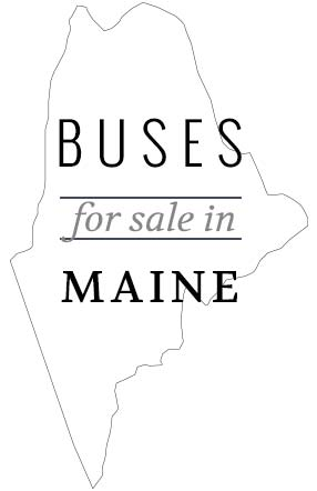 school bus for sale Maine