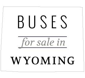 school bus for sale wyoming