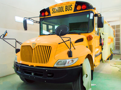 School Coach Shuttle Buses