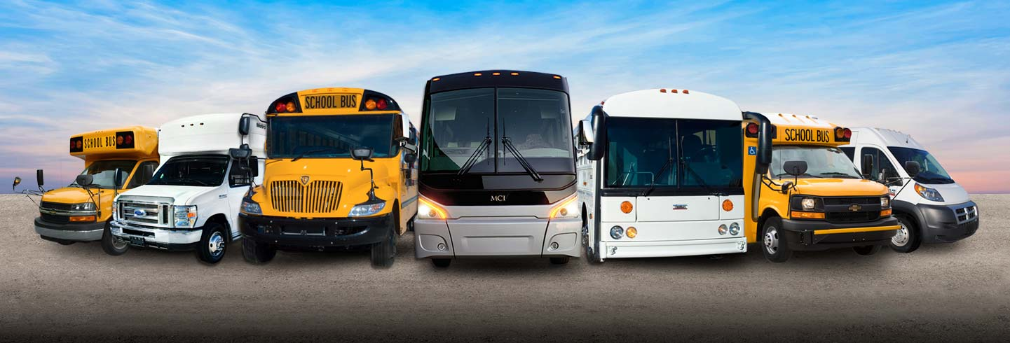 New/Used Buses For Sale in Texas | National Bus Sales